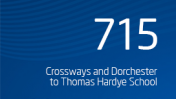 Crossways and Dorchester to Thomas Hardye School