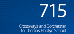 SUSPENDED: Crossways and Dorchester to Thomas Hardye School