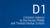 Compton Valence to Dorchester Middle and Thomas Hardye Schools