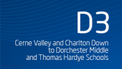 Cerne Valley and Charlton Down to Dorchester Middle and Thomas Hardye Schools