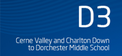 Cerne Valley and Charlton Down to Dorchester Middle School