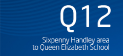 Sixpenny Handley area to Queen Elizabeth School