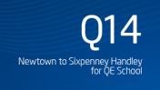 Newtown to Sixpenny Handley for QE School