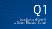 Longham and Colehill to Queen Elizabeth School