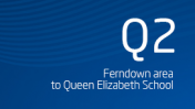 Ferndown area to Queen Elizabeth School
