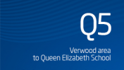 Verwood area to Queen Elizabeth School