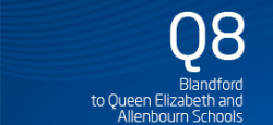 Blandford to Queen Elizabeth and Allenbourn Schools